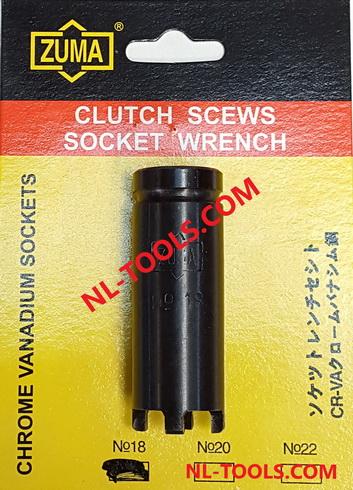 ลูกบ็อกเขี้ยว 4 เขี้ยว ZUMA NO.18 (JKV)(เครื่องมือซ่อมรถมอเตอร์ไซค์)