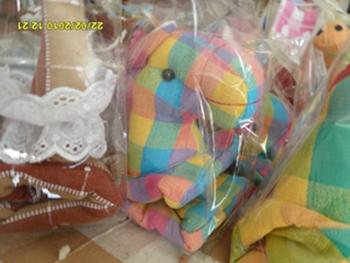 ผ้าหุ้มกล่องกระดาษใส่ทิชชูแบบสี่เหลี่ยมตุ๊กตาสัตว์ต่าง ๆ 5