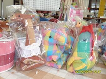 ผ้าหุ้มกล่องกระดาษใส่ทิชชูแบบสี่เหลี่ยมตุ๊กตาสัตว์ต่าง ๆ 6
