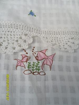 ผ้าม่านหน้าต่างผ้าฝ้ายปักดอกถักโครเชร์หัวผ้าม่านและชายผ้าม่านแบบสอด 20