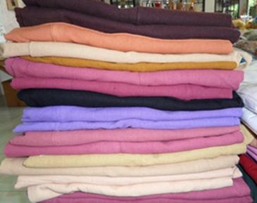 กางเกงสะดอผ้าฝ้ายขายาว(กางเกงเล)