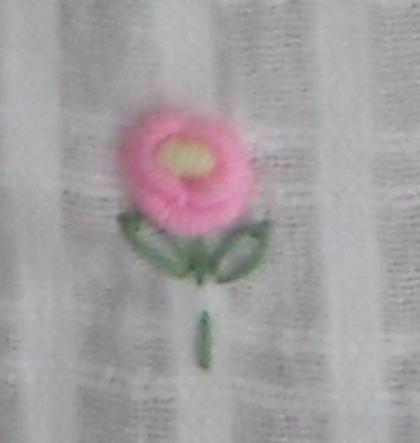 ผ้าม่านหน้าต่างผ้าฝ้ายปักดอกถักโครเชร์หัวผ้าม่านและชายผ้าม่านแบบสอด 31