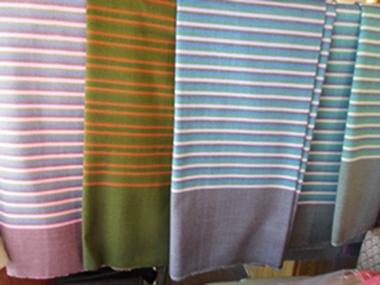 ผ้าถุงผ้าฝ้ายทอมือลายก่านลำพูน