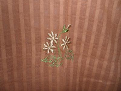 ผ้าม่านหน้าต่างผ้าฝ้ายปักดอกถักโครเชร์หัวผ้าม่านและชายผ้าม่านแบบสอด 43