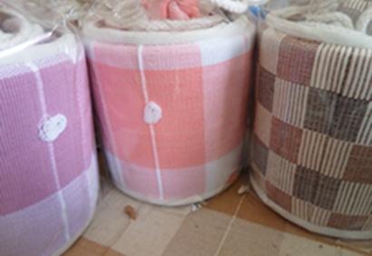 ผ้าหุ้มกล่องกระดาษใส่ทิชชูแบบกลมไม่มีหัวช้าง