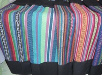 ผ้าถุงผ้าฝ้ายลายนากา