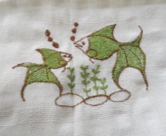 ผ้าม่านหน้าต่างผ้าฝ้ายปักดอกถักโครเชร์หัวผ้าม่านและชายผ้าม่านแบบสอด 40