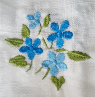 ผ้าม่านหน้าต่างผ้าฝ้ายปักดอกและหัว-ชายผ้าถักโคเชร์แบบคอกระเช้า 29