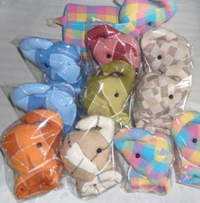 ผ้าหุ้มกล่องกระดาษใส่ทิชชูแบบสี่เหลี่ยมตุ๊กตาสัตว์ต่าง ๆ 1