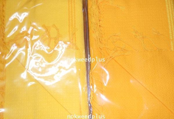 ผ้ารัดอกพระผ้าฝ้ายทอมือลายไทย(ลายใหญ่)