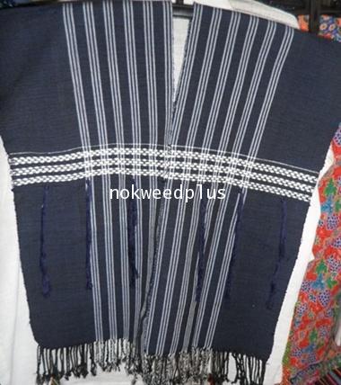เสื้อกะหรี่ยงผ้าฝ้ายทอมือ(ทอ3เส้น)