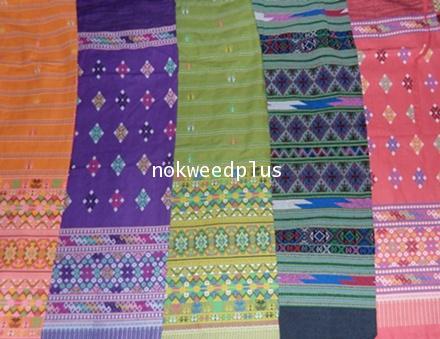 ผ้าถุงผ้าฝ้ายพิมพ์ลายไทยและลายต่าง ๆ