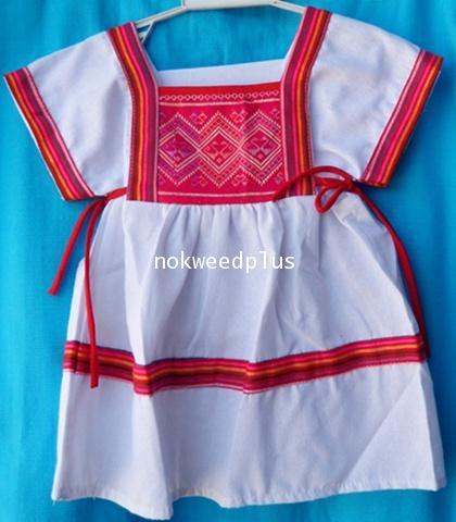 ชุดกะเหรี่ยงผ้าฝ้ายทรงเกาหลี(เด็ก)