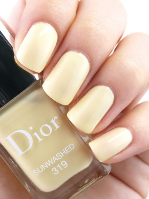 *พร้อมส่ง..ราคาพิเศษ* Dior Vernis Nail Polish 10ml. ~ no.319 Sunwashed TESTER ไม่มีกล่อง