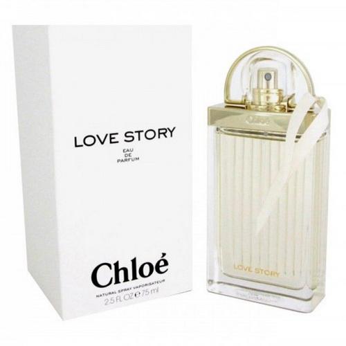 Pre-order : Chloe Love Story 75ml. Eau de Parfum TESTER กล่องขาว
