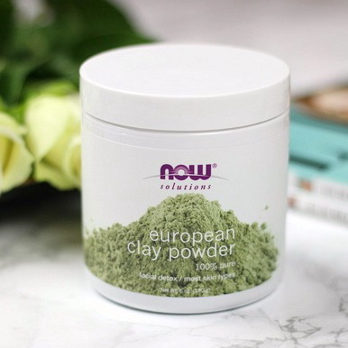 Pre-order : Now Foods, Solutions, European Clay Powder 170g.