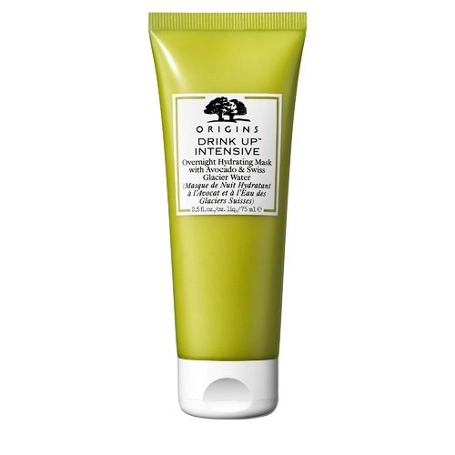 Pre-order : ORIGINS Drink Up Intensive Overnight Hydrating Mask with Avocado  Swiss Glacier  75ml.
