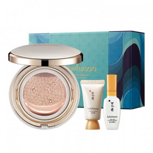 Pre-order : *ลด 50 เปอร์* SULWHASOO Perfecting Cushion EX Holiday Collection ~ no.21