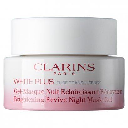 Pre-order : Clarins White Plus Pure Translucency Brightening Revive Night Mask-Gel 50ml.