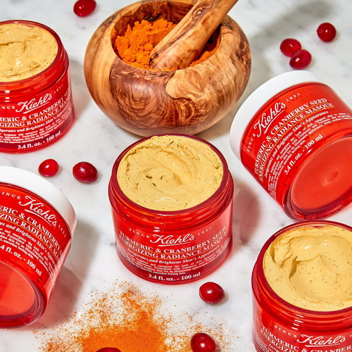 Pre-order : Kiehl\'s Turmeric and Cranberry Seed Energizing Radiance Masque 100ml.