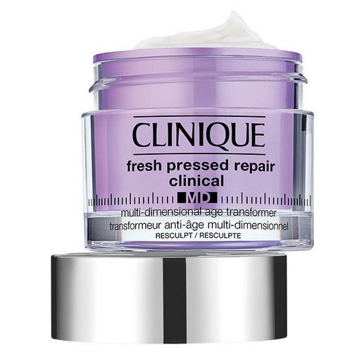 Pre-order : Clinique Fresh Pressed Repair Clinical MD Multi-Dimensional Age Transformer Resculpt