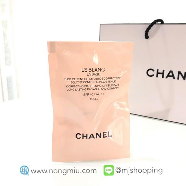 Tester : Chanel le blanc la base 2.5ml. - Rosee
