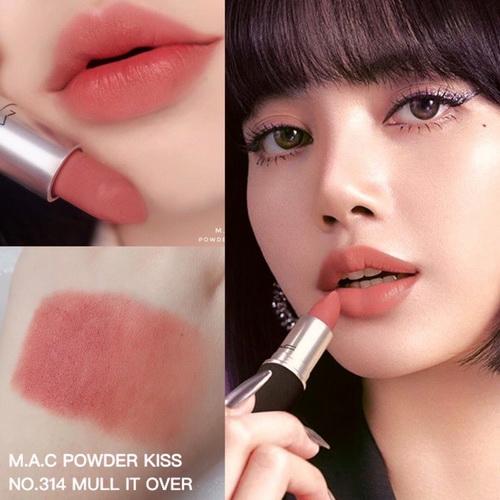 *พร้อมส่ง* MAC Powder Kiss Lipstick - no.314 Mull it Over