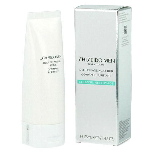 Pre-order : Shiseido Men Deep Cleansing Scrub 125ml.