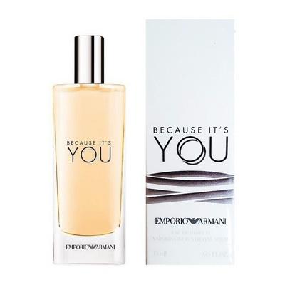 Pre-order : Emporio Armani Because It\'s You 15ml. EDP