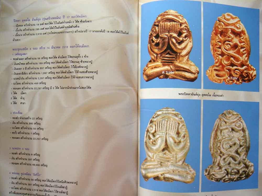 หนังสือ รวมภาพวัตถุมงคล หลวงปู่ทิม เทพเจ้าของชาวระยอง 10