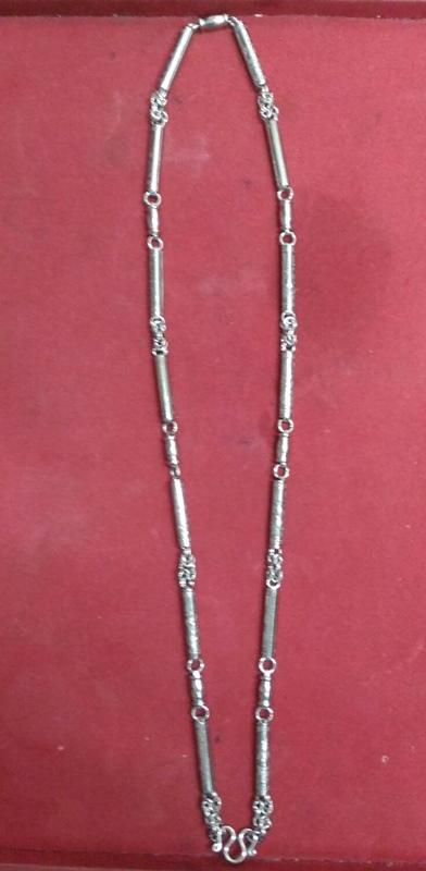 สร้อยแสตนเลส ห้อยพระ ความยาวรอบ 28 นิ้ว stanless neckless อุปกรณ์