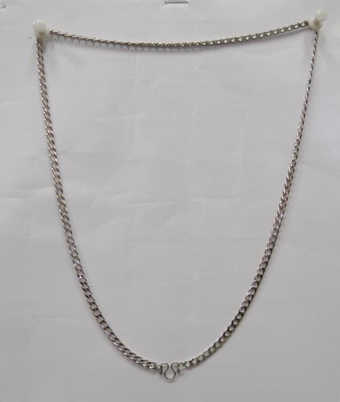 สร้อยแสตนเลส  ความยาวรอบ 22 นิ้ว stanless neckless อุปกรณ์