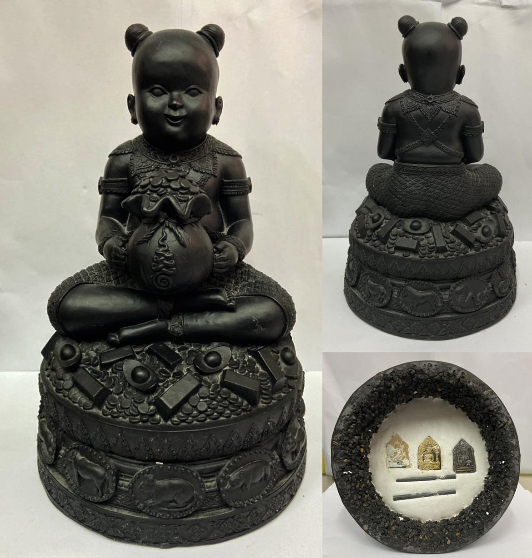 กุมารทอง ขนาดบูชา หลวงปู่อิ่ม วัดบ้านเขาขาด ปราจีนบุรี 2557