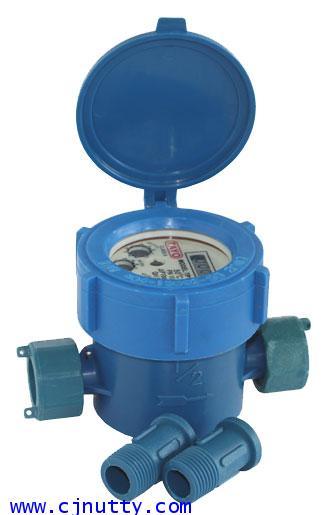CJ-WATER METER/PVC/1/2inch   มิเตอร์น้ำพีวีซี TAYO 1/2inch