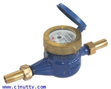CJ-WATER METER/BS-1/2   มิเตอร์น้ำ2 ชั้น 1/2 inch TAYO (ทองเหลือง)