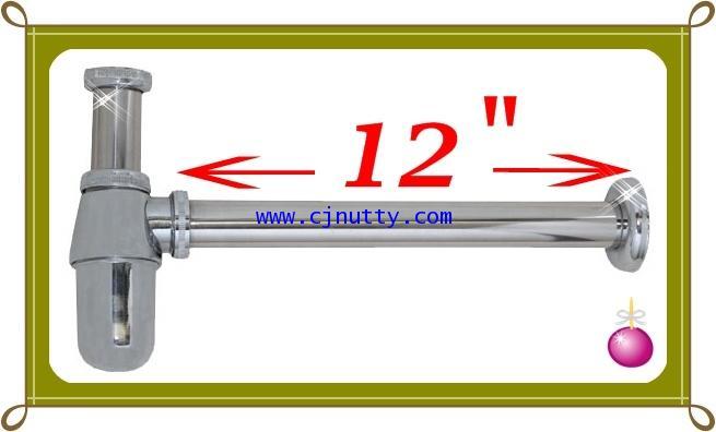 ท่อน้ำทิ้งชุบโครเมี่ยม 12นิ้ว  โปร.ซื้อ5แถม1