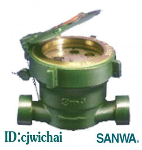 CJ-SW-Water Meter(Single) มาตรวัดน้ำ SANWA (ระบบเฟืองจักรชี้นเดียว)