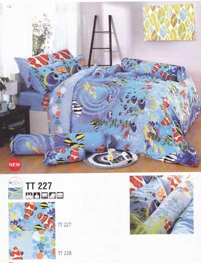 ผ้าปูที่นอน TOTO ลาย TT227
