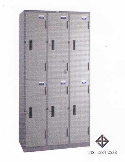 ตู็ล็อกเกอร์ 6 ประตู(มอก.)