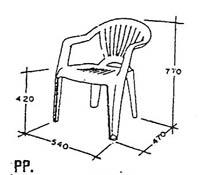 เก้าอี้ Superware CH-48 1