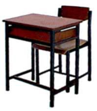 ชุดโต๊ะนักเรียน มัธยม A.4 เหล็ก 0.8 มม.