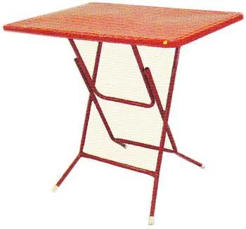 โต๊ะพับหน้าเหล็ก 3.5 ฟุต
