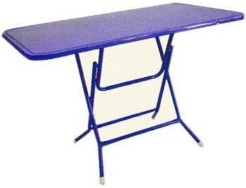 โต๊ะพับหน้าเหล็ก 4 ฟุต