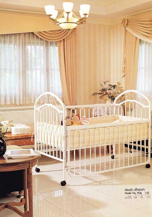เตียงเด็ก เอ็กซ์ตร้า Model No. PGB120