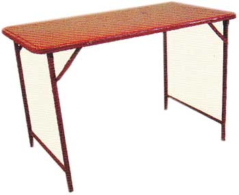 โต๊ะพับสวิง หน้าโต๊ะเหล็ก 3 ฟุต