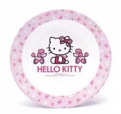 จานทรงลึก Hello kitty P182-8