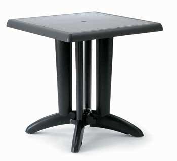 โต๊ะพลาสติก Pieds pliants Table