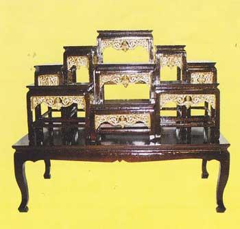 โต๊ะบูชา หน้า 6 หมู่่ 9 กระจังทอง code 036