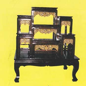 โต๊ะบูชา หน้า 8 หมู่่ 7 กระจังทอง code 039