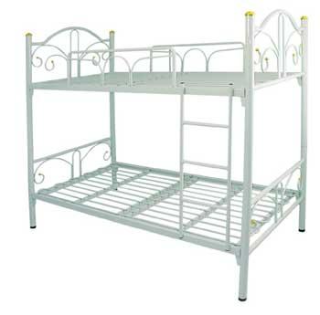 เตียงนอนหล็ก 2 ชั้น  3.5\' ทูอินวัน พื้นเหล็ก